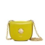 Rachel Bilsons yellow bag at Kate Spade