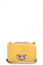 Similar yellow bag at Boohoo