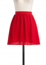 Red skirt like Blairs at Modcloth