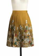 Pleated skirt like Blairs at Modcloth