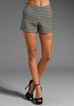 Rachel's shorts at Revolve