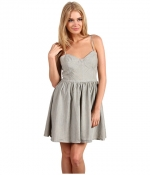 Grey bustier dress at Zappos