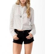 Polka dot blouse at Forever 21
