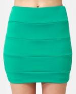 Similar green skirt at Lulus
