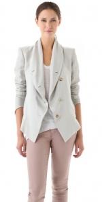 Robins grey jacket at Shopbop