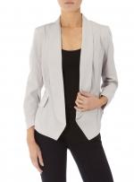 Grey blazer like Robins at Dorothy Perkins