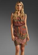 Zoe Hart's printed dress at Revolve