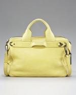 Serena's yellow bag at Neiman Marcus