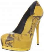 Serena's yellow pumps at Amazon