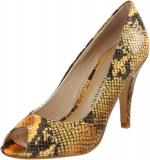 Yellow snake pumps like Serenas at Amazon