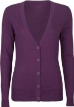 Purple cardigan like Bernadettes at Amazon