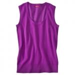 Pink sleeveless sweater at Target