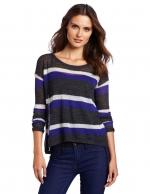 Lily's purple stripe sweater at Amazon