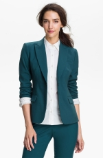 Teal blazer like Lilys at Nordstrom