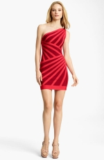 Mindy's red dress at Nordstrom