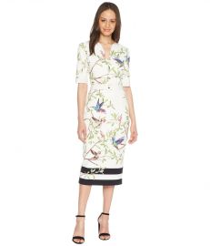 \'Everly\' Highgrove bodycon midi dress by Ted Baker at Zappos