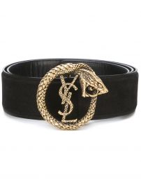 \'Monogram\' serpent belt at Farfetch