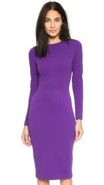 5th andamp Mercer Long Sleeve Dress in Purple at Shopbop