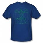 Sheldon\'s blue shirt at Comic Center