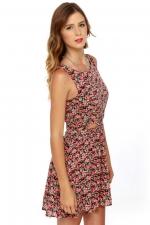Similar floral dress at Lulus
