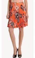 Lemon's orange skirt at Barneys