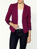 Red striped blazer like Arias at Piperlime