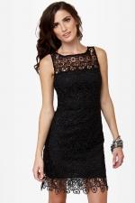Similar black dress at Lulus