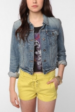 Denim jacket at Urban Outfitters