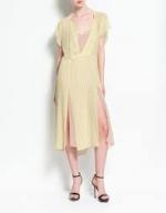 Spencer's yellow dress at Zara