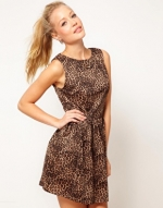 Leopard print dress like Zoes at Asos