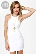 White dress like Lemons at Lulus