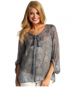 Similar style blouse at Zappos