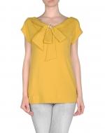 Similar yellow top at Yoox