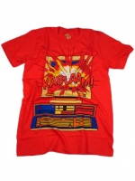 Sheldon's red comic shirt at Blankgeneration