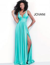 67471 Jade Gown at Jovani