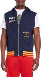 6th Man Hooded Zip Tricot Vest at Century 21