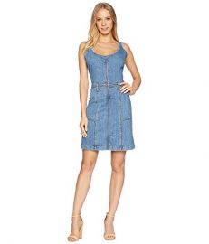7 For All Mankind Zip Front Dress at Amazon