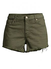 7 For All Mankind - Frayed Hem Cut-Off Shorts at Saks Fifth Avenue