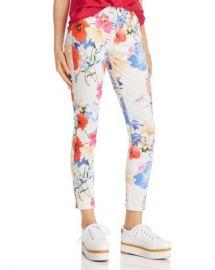 7 For All Mankind Printed Ankle Skinny Jeans in Seaside Poppies Women - Bloomingdale s at Bloomingdales