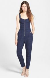 7 For All Mankindand174 Zip Bodice Jumpsuit at Nordstrom