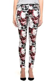 7 For All Mankindand174and160Floral Print Skinny Jeans at Nordstrom