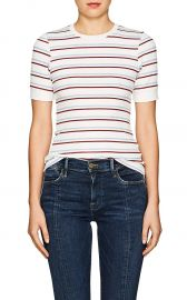 70S STRIPED FITTED T-SHIRT 70S STRIPED FITTED T-SHIRT at Barneys Warehouse