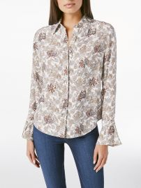 70s Ruffle Shirt at Frame