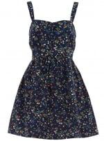 Blue floral dress like Bernadettes at Dorothy Perkins