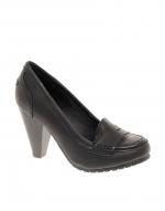 Black loafers like Bernadettes at Asos