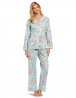 Blue floral pajamas like Bernadettes at Amazon