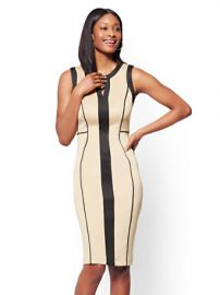 7th Avenue Colorblock Sheath Dress by New York & Company at NY&C