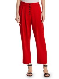 A.L.C. - RUSSEL BUTTON-FRONT PANTS at Saks Fifth Avenue