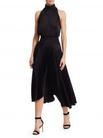A L C  - Renzo Pleated Sleeveless Dress at Saks Fifth Avenue