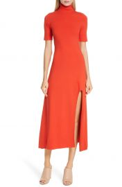 A L C  Caplan Slit Midi Dress   Nordstrom at Nordstrom